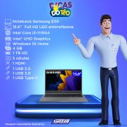 Miniatura - NOTEBOOK SAMSUNG E30 15.6 I3-1115G4 4GB HD1TB W10