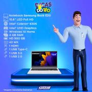 Miniatura - NOTEBOOK SAMSUNG E20 15.6 CEL 6305U 4GB HD500 W10