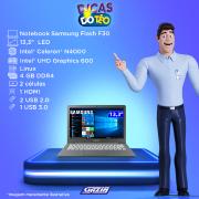 Miniatura - NOTEBOOK SAMSUNG F30 13.3P CEL N4000 4GB 64SSD W10