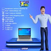 Miniatura - NOTEBOOK LENOVO 15.6 CEL-N4020 4GB 128GBSSD W10