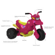 Miniatura - MOTO ELETRICA XT3 FASHION BANDEIRANTE