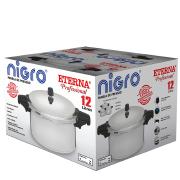 Miniatura - PANELA PRESSÃO ETERNA NIGRO 12 LITROS