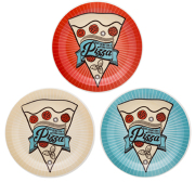Foto de CONJUNTO DE PRATOS OXFORD PIZZA 3P