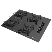 Foto de FOGAO 4B ATLAS AGILE UP GLASS MESA VIDRO COOKTOP