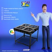 Miniatura - FOGAO 4B REALCE INDUSTRIAL ATENA S/FORNO