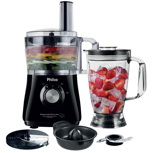 Foto - MULTIPROCESSADOR PHILCO 3 X 1 ALL IN ONE 800W