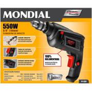 Miniatura - FURADEIRA MONDIAL 550W FI09