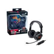Foto de HEADSET GAMER GENIUS 31710020101 HS-G500V GAMER COM FUNCAO VIBRACAO USB