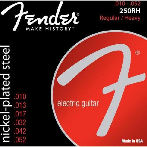 Foto - Encordoamento para Guitarra Aco 0.010 250RH Niquelado FENDER