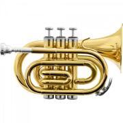 Foto de Trompete Pocket Bb HMT-500L Laqueado HARMONICS