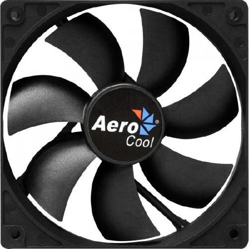 Foto - Cooler Fan 12cm DARK FORCE EN51332 Preto AEROCOOL