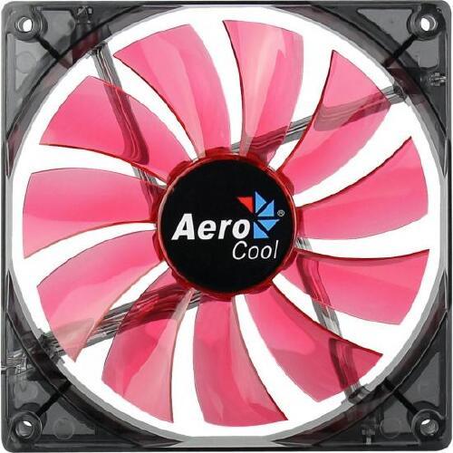 Foto - Cooler Fan 14cm RED LED EN51370 Vermelho AEROCOOL
