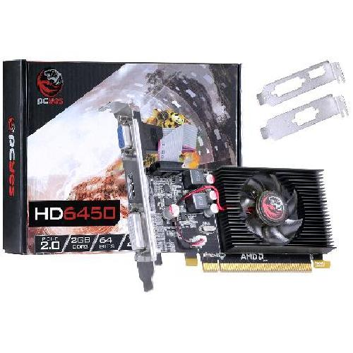 Foto - PLACA DE VIDEO 6450 2GB DDR3 64 BITS COM KIT LOW P