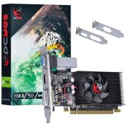 Foto de PLACA DE VIDEO NVIDIA GEFORCE GT710 2GB DDR3 64 BITS COM KIT LOW PROFILE INCLUSO