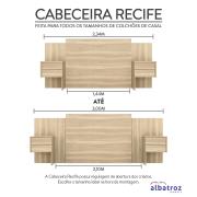 Miniatura - CABECEIRA EXTENSIVEL RECIFE ALBATROZ 04GVT