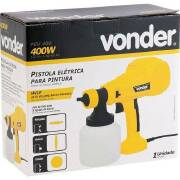 Miniatura - PISTOLA ELETRICA P/ PINTURA 400W VONDER PEV400