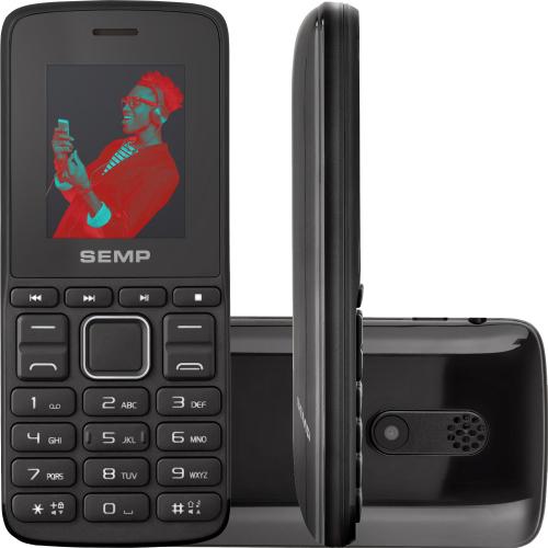 Foto - CELULAR SEMP BARRA GO 1L 3G 64MB