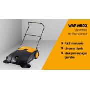 Miniatura - VARREDEIRA WAP PISO MANUAL W800