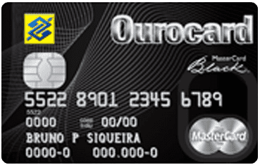 Ourocard Mastercard Black
