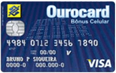 Ourocard Bônus Celular International Visa