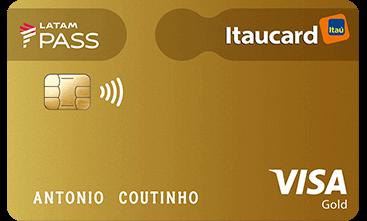 LATAM PASS Itaucard Visa Gold