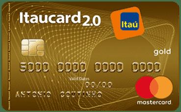 Cartão de credito Itaucard 2.0 Gold Mastercard