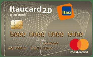 Itaucard 2 0 International MasterCard | Cartão de Crédito