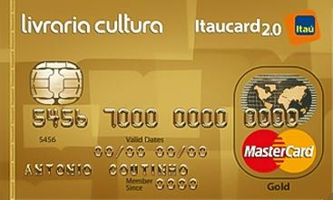 Livraria Cultura Itaucard Gold Mastercard