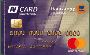 N Card Itaucard 2 0 International MasterCard | Cartão de Crédito