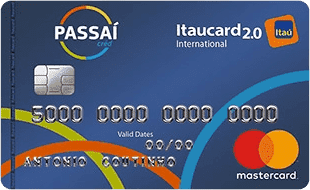Passaí Itaucard 2.0 International Mastercard