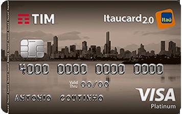 Cartão TIM Itaucard 2.0 Platinum Visa