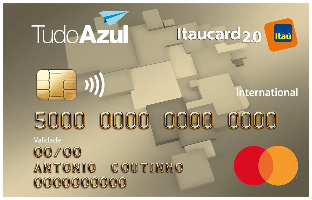 Cartão TudoAzul Itaucard Internacional