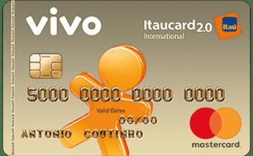 VIVO Itaucard 2 0 Internacional MasterCard Pós | Cartão de