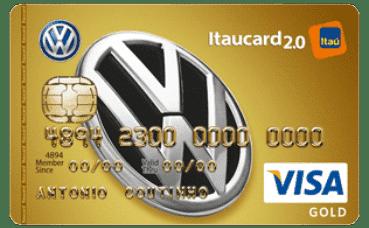 Cartão Volkswagen Itaucard 2.0 Gold Visa