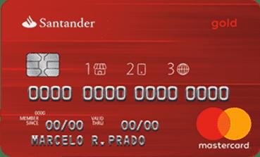 Santander Mastercard Gold 1|2|3