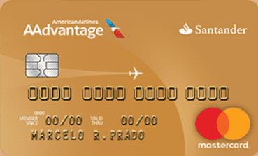 Cartão Santander Mastercard Aadvantage Gold