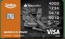 Santander Smiles Gold Visa