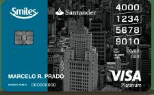 Santander Smiles Platinum Visa