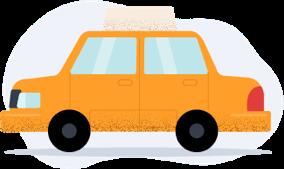 Carro reserva/taxi emergencial