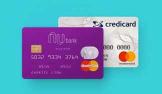 Cartões Nubank e Credicard Zero