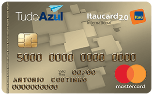 TudoAzul Itaucard 2.0 International MasterCard