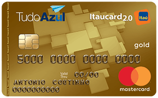 TudoAzul Itaucard 2.0 Gold MasterCard