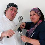 Helena Manosso e Lucio Manosso são cozinheiros e ex-participantes do MasterChef.