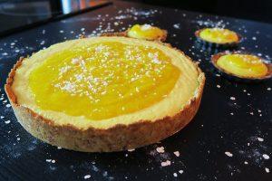 Torta mousse de manga da chef Malu Lobo