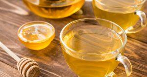 Chá expectorante de abacaxi