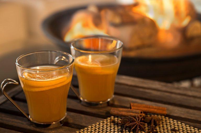 Chá aromático da chef Cinthya Maggi