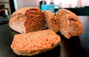 Pão integral com grãos do Mauro Medeiros