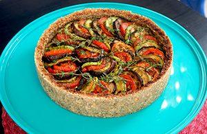 Torta Ratatouille por Cozinha da Terra
