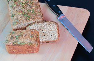 Pão integral de liquidificador por chef Malu Lobo