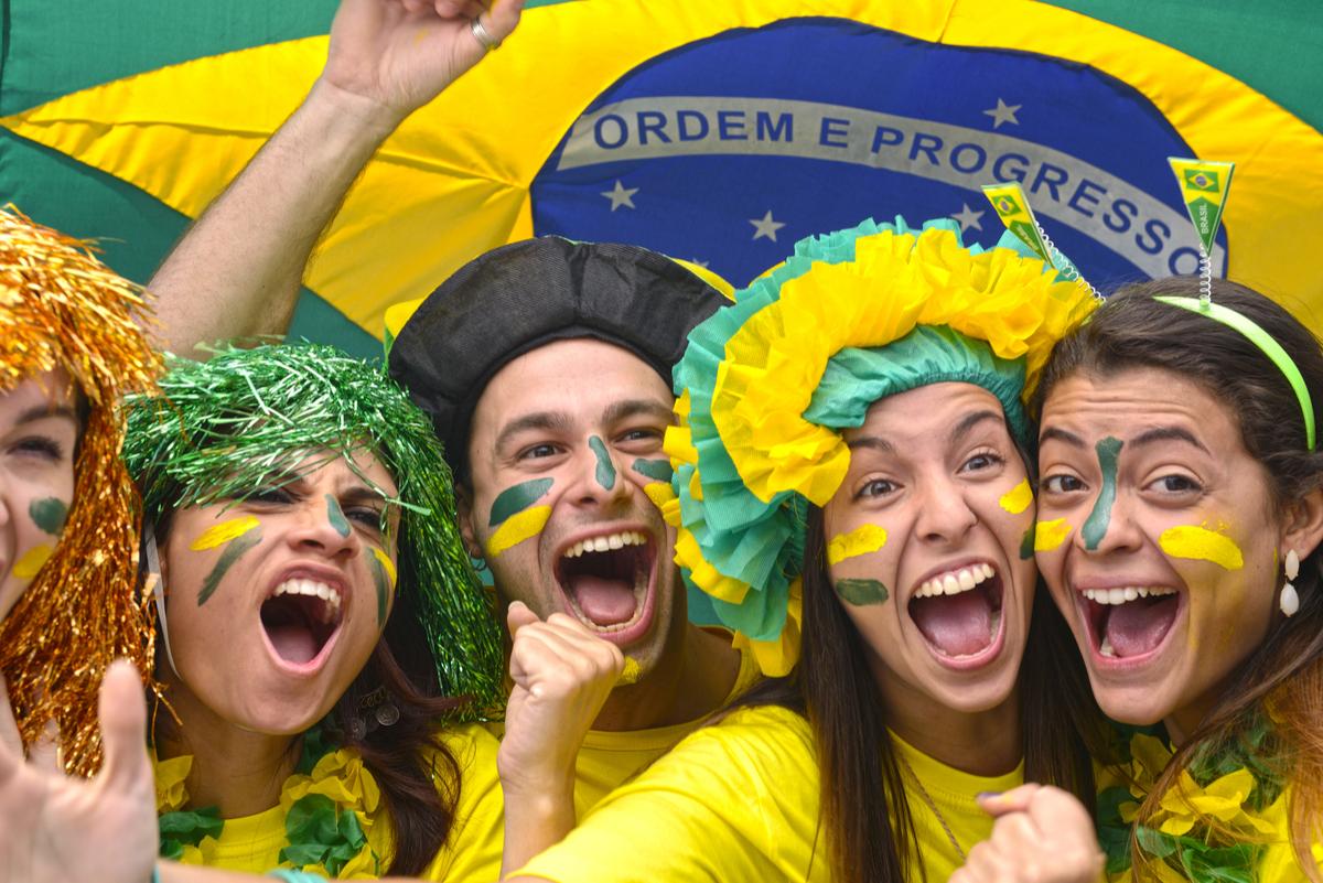 Maquiagem do Brasil para a Copa